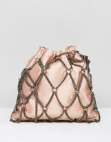 Asos Chain Pouch Clutch Bag