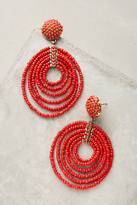BaubleBar Pinata Beaded Hoop Earrings