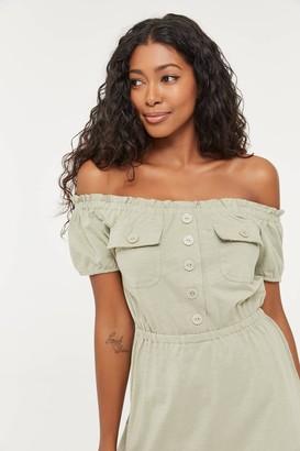 Ardene Off Shoulder Mini Dress
