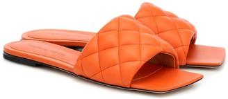 Bottega Veneta Padded leather slides