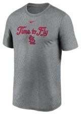 Nike Men's St. Louis Cardinals Triptych Logo Legend T-Shirt