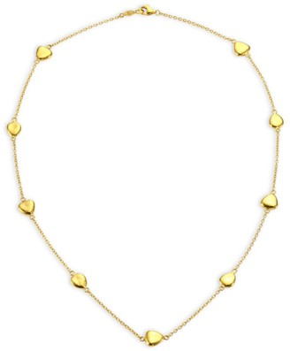 Gurhan 22K Gold Pebble Station Necklace