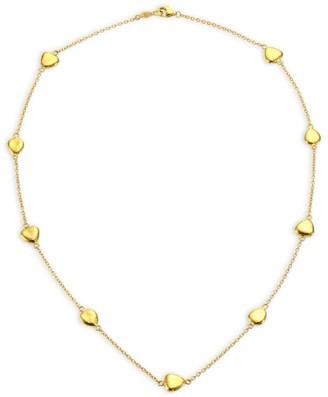 Gurhan 22K Gold Pebble Station Necklace