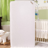 """L.A. Baby Natural V Triple Zone 2 in1 Breathe-Safe Soy Foam 5.75"""" Crib Mattress with Blended Organic Cotton Cover"""