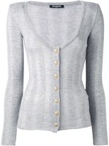 Balmain striped cardigan - women - Wool - 36