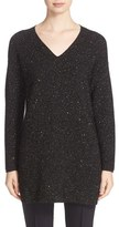 Lafayette 148 New York Sequin Silk Blend Knit Tunic