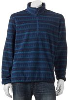 Hemisphere Men's Modern-Fit Patterned Quarter-Zip Fleece Shirt Jacket