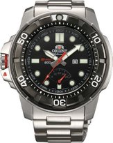 Orient #SEL06001B Men's Stainless Steel M-Force Beast Diver Power Reserve Automatic Watch