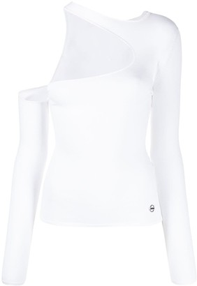 Emilio Pucci One Shouldered Top