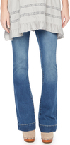 Motherhood Indigo Blue Secret Fit Belly Vintage Flare Maternity Jean