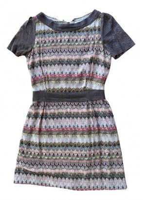 AILANTO Multicolour Silk Dresses