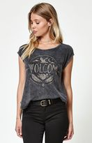 Volcom Nite Cruise Mineral Wash Muscle T-Shirt