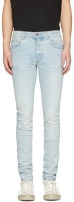 Amiri Blue Light Stack Jeans