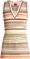 Missoni Multi-stripe sleeveless top