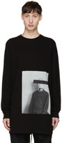Song For The Mute Black Long Sleeve bag Head T-shirt