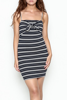Lush Stripe Tie Dress