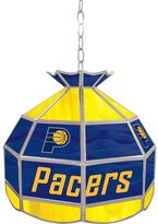 """Indiana Pacers 16"""" Tiffany-Style Lamp"""