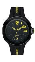 Ferrari Black Rubber Strap Men's Watch 830221