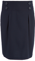 John Lewis Girls' School Pencil Skirt, Blue