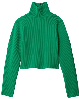 Tibi Technical Turtleneck Sweater