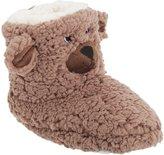 Universal Textiles Childrens/Kids Pull On Bear Design Slipper Boots