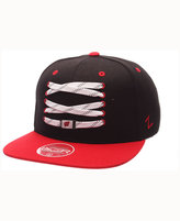 Zephyr Wisconsin Badgers HK Lacer Snapback Cap