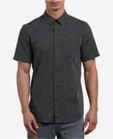Volcom Men's Gladstone Jacquard Button-Down Shirt