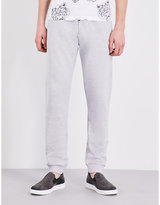 Kenzo Marl-effect Cotton-jersey Jogging Bottoms