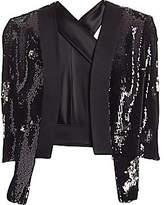 Galvan Women's Salar Sequin Jacket