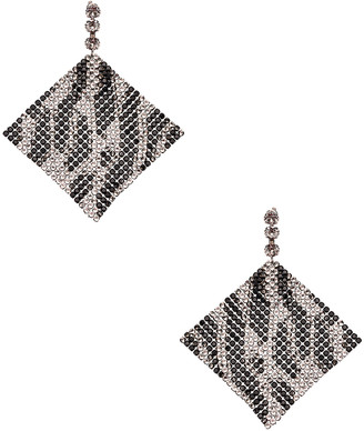 Isabel Marant New Nile Sheet Earrings in Transparent | FWRD
