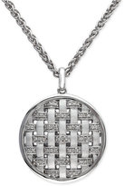 Effy Balissima by Diamond Pendant Necklace (1/8 ct. t.w.) in Sterling Silver