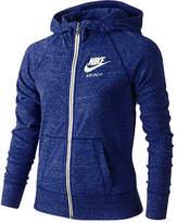 Nike Sportswear Gym Vintage Full-Zip Hoodie, Big Girls