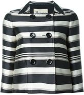 Herno 'Jacqueline' striped jacket - women - Polyester/Acetate - 46