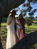 Tysa Byron Bay Kimono In Off White