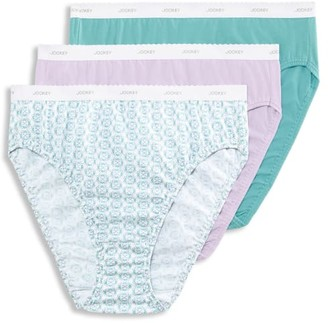 Jockey Plus Size Classic French Cut Brief 3-Pack