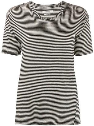 Etoile Isabel Marant striped longline T-shirt