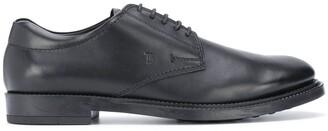 Tod's debossed logo Derby shoes