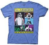 Ripple Junction Big Lebowski Character Poster Adult T-Shirt XL