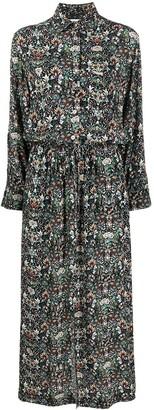 Zadig & Voltaire Kaleido pattern shirt dress
