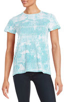 Lord & Taylor Petite Patterned Cotton Tee