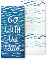 Celebrate Summer Together Go with the Flow Kitchen Towel 2-pk.