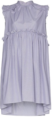 Brøgger Posey ruffled cotton dress