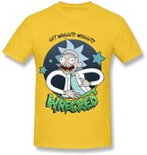 RoyalBlue Enlove Rick And Morty Short-Sleeve T Shirts For Men Size L