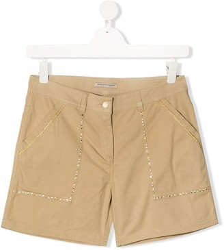 Ermanno Scervino Embellished Tailored Shorts
