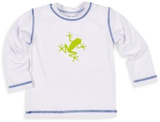 Florence Eiseman Baby Boy's Frog Long-Sleeve Rashguard