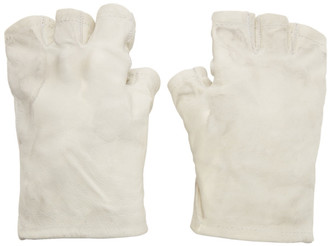 Boris Bidjan Saberi Grey Fingerless Gloves