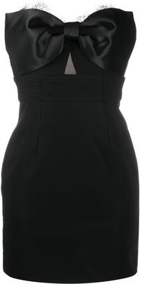 Self-Portrait Bow Detail Cocktail Dress