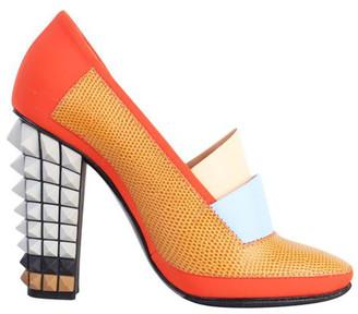 Fendi Color Blocks Pyramides Spiked Heel Pump Size 36