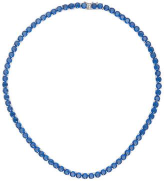 Mounser Blue Laguna Rhinestone Necklace