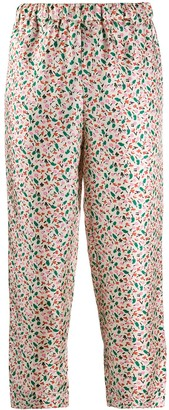 Marni Floral Trousers